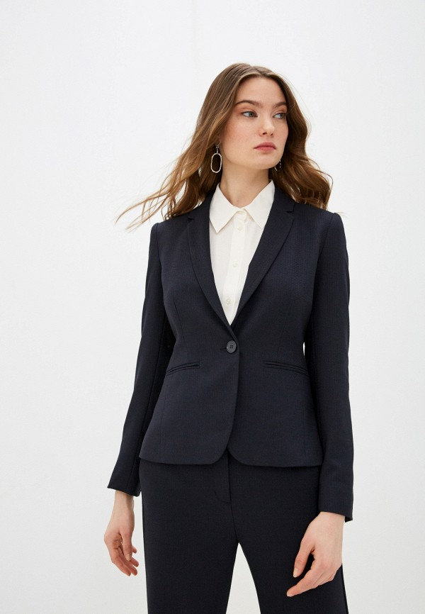 женский пиджак max&co, черный