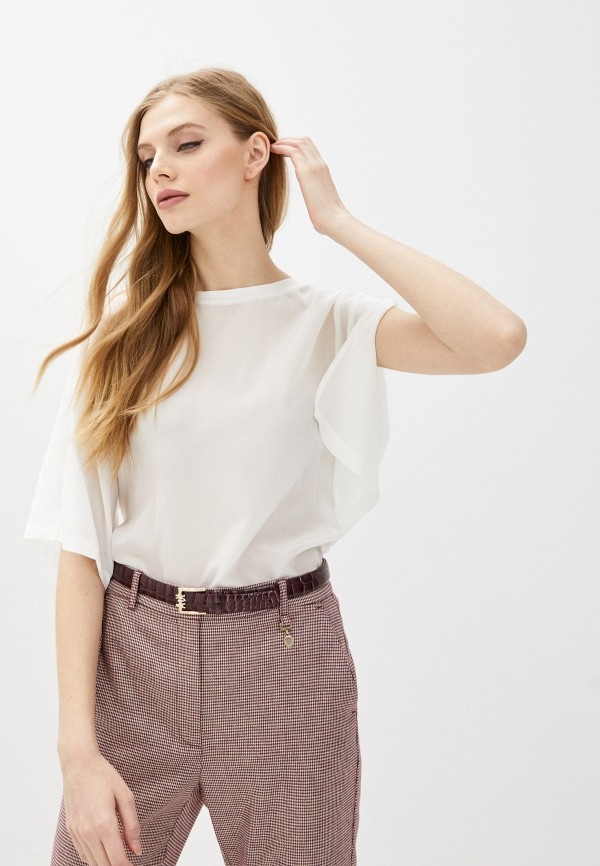 женская блузка max&co, белая