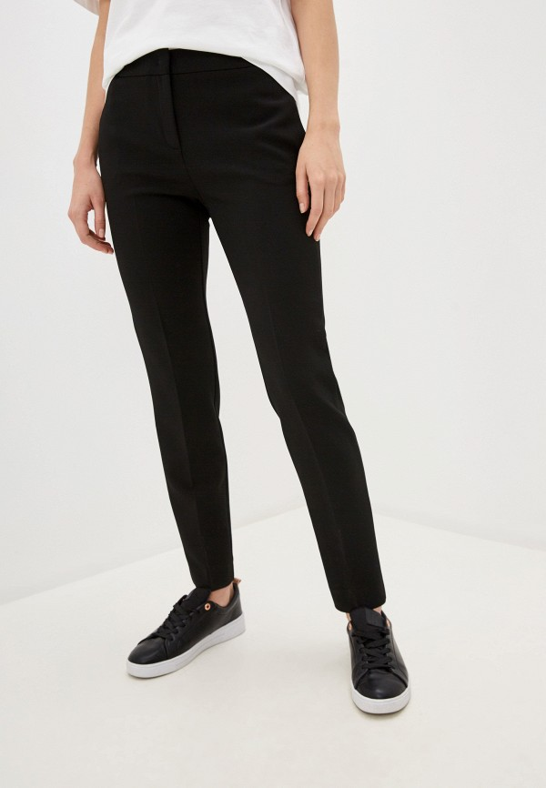 женские классические брюки max&co, черные