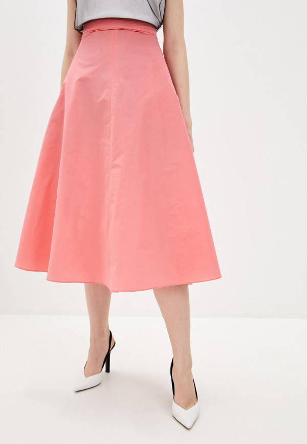 женская юбка max&co, розовая