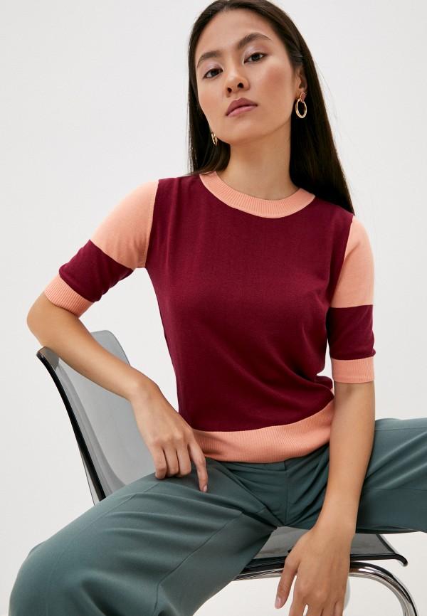 женский джемпер max&co, бордовый