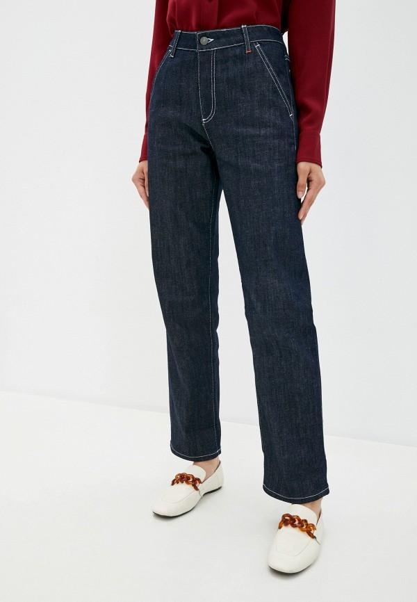 женские прямые джинсы max&co, синие