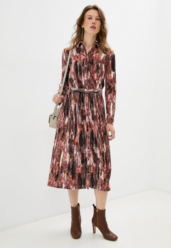 женское повседневные платье max&co, разноцветное