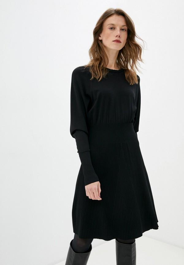 женское платье max&co, черное