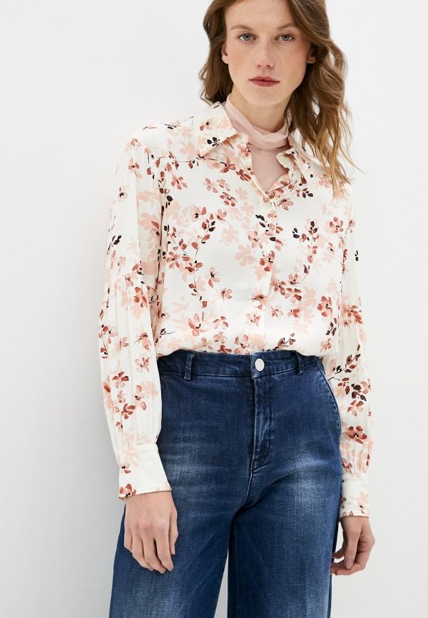 женская блузка max&co, бежевая