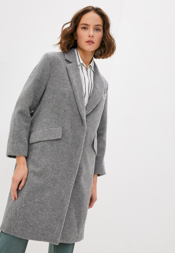 женское пальто max&co, серое