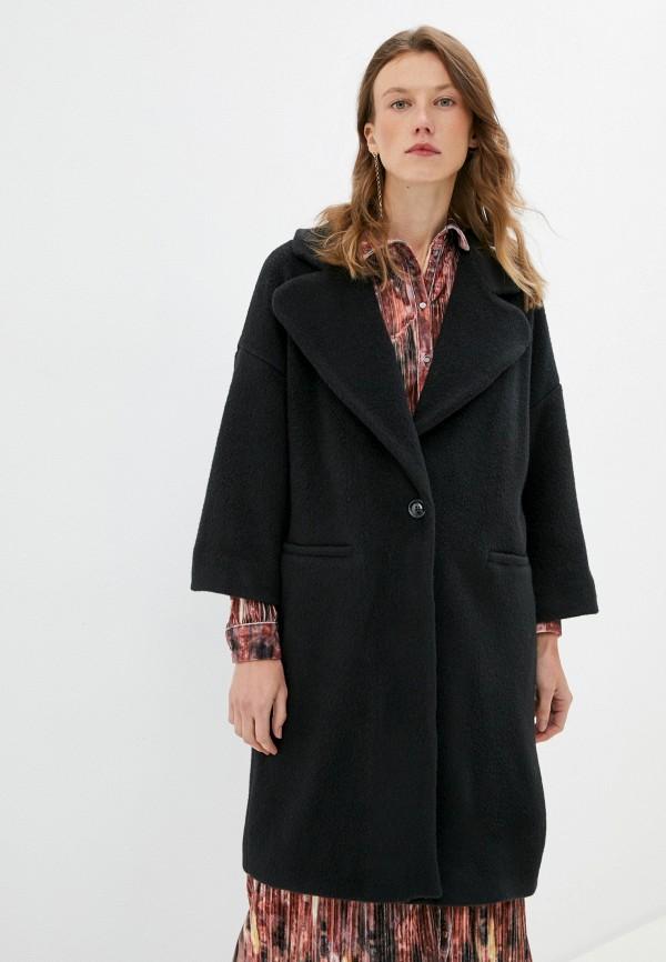 женское пальто max&co, черное