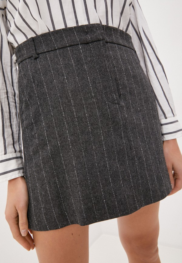 женская прямые юбка max&co, серая