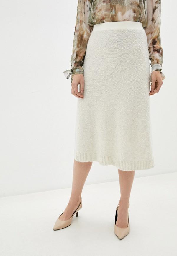женская юбка max&co, бежевая