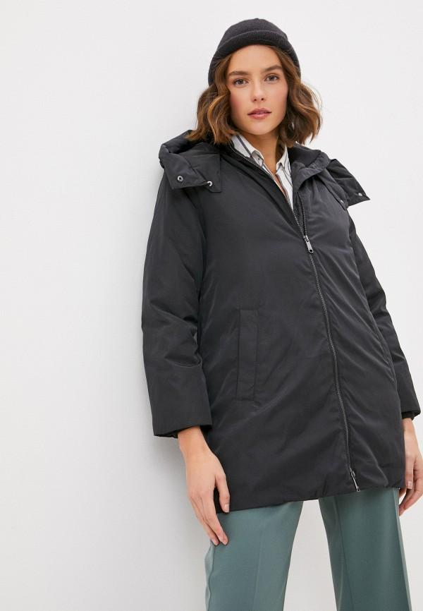 женская куртка max&co, черная