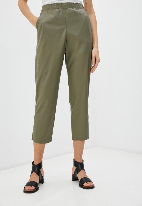 женские брюки max&co, хаки