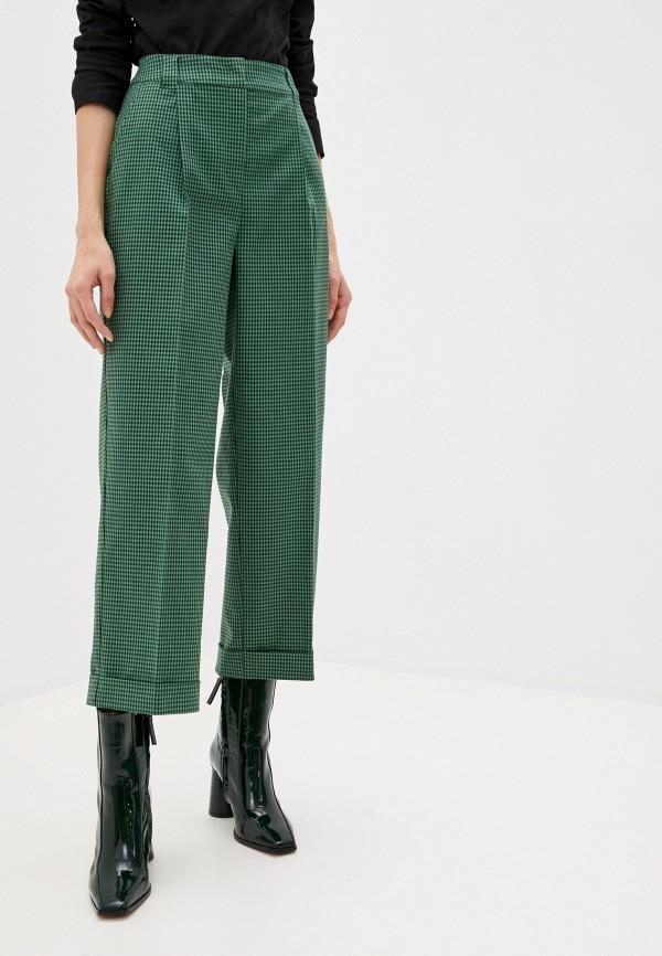 женские повседневные брюки max&co, зеленые