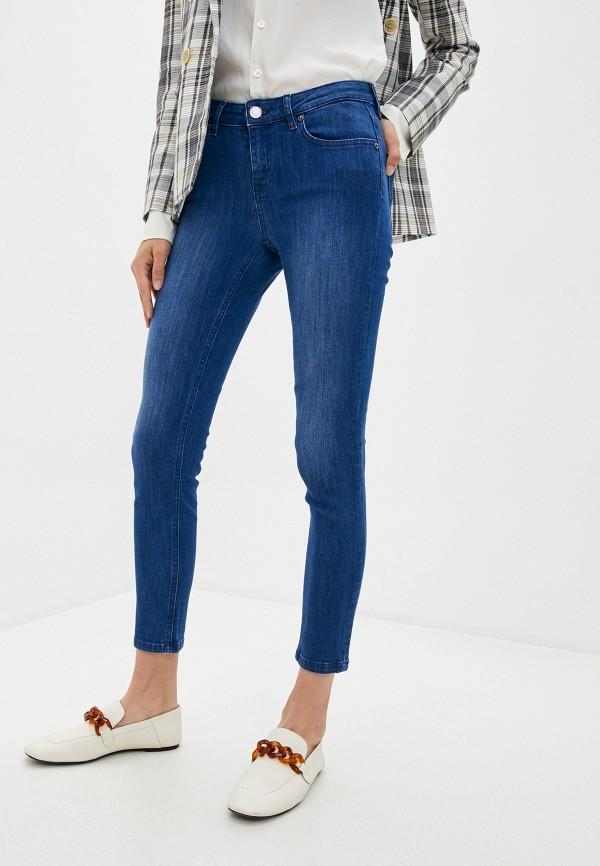 женские джинсы скинни max&co, синие