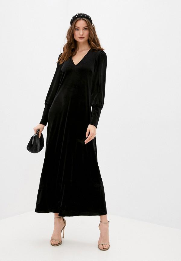женское вечерние платье max&co, черное