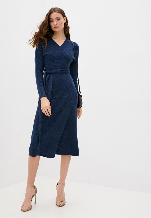 женское платье max&co, синее