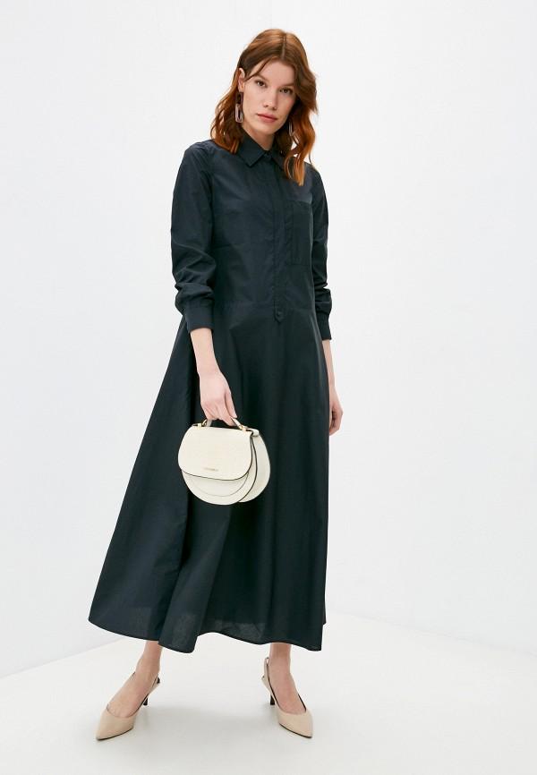 женское повседневные платье max&co, черное
