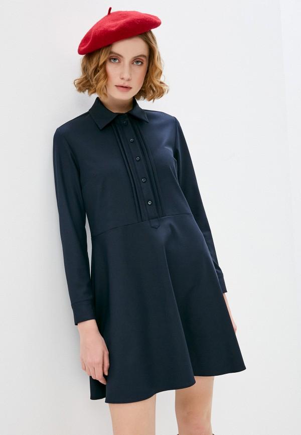 женское повседневные платье max&co, синее