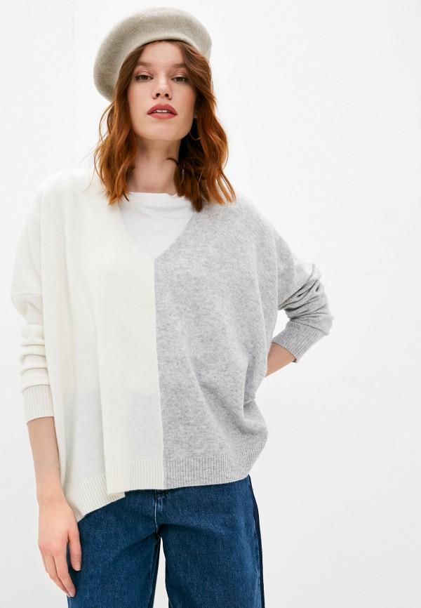 женский пуловер max&co, серый
