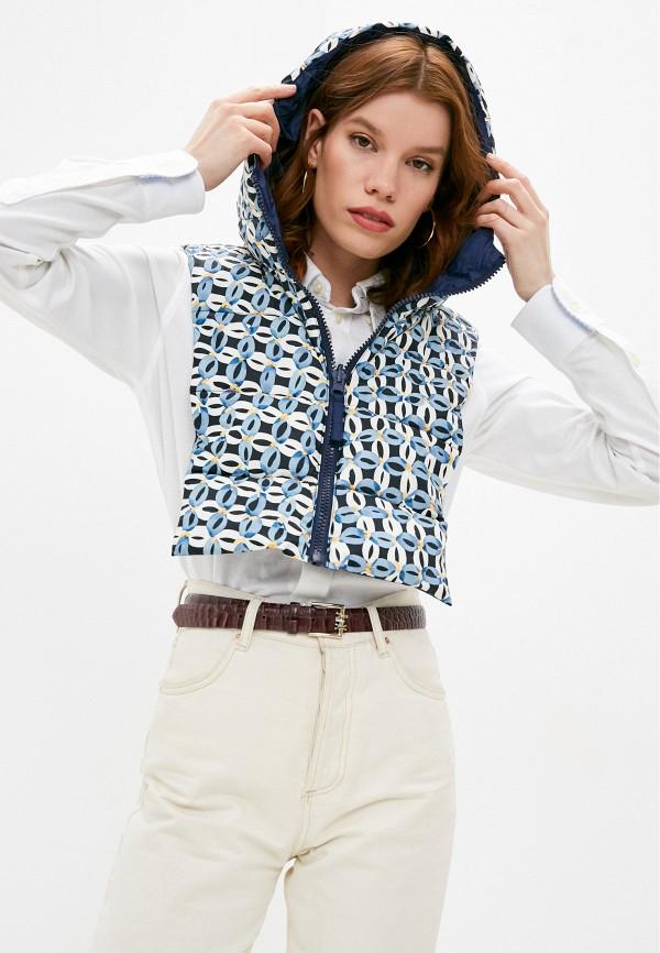 женский жилет max&co, синий