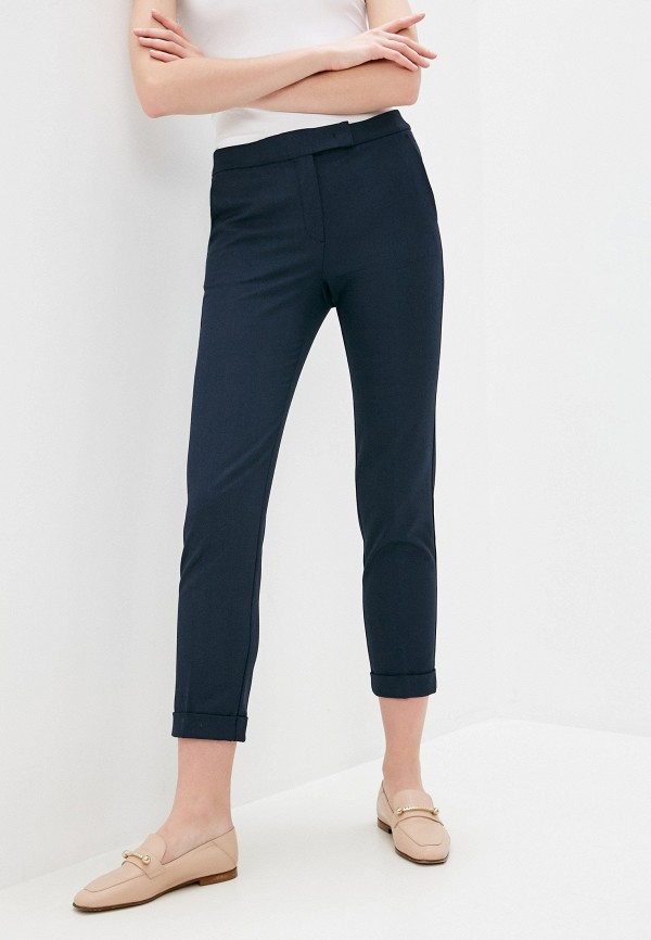женские повседневные брюки max&co, синие