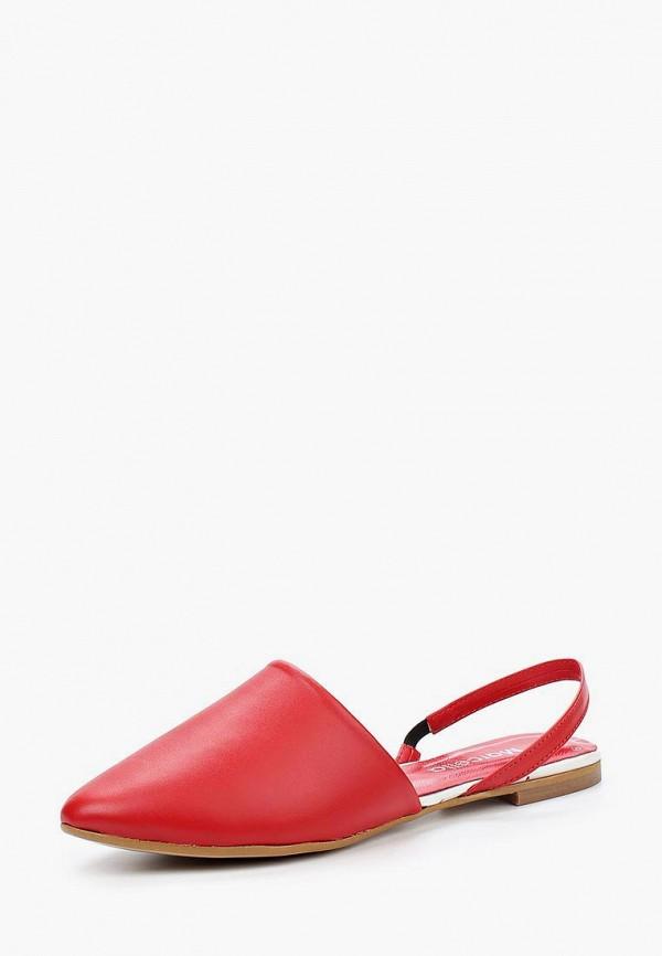 женские сандалии marcella, красные