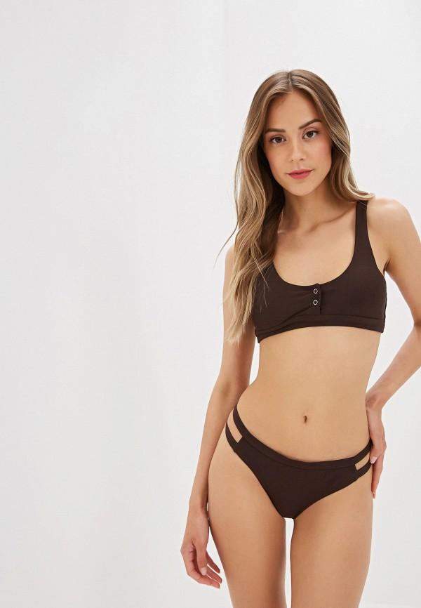женский купальник marcella, коричневый