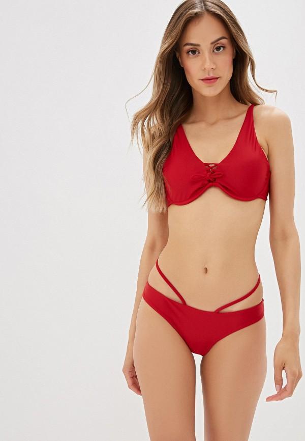 женский купальник marcella, красный