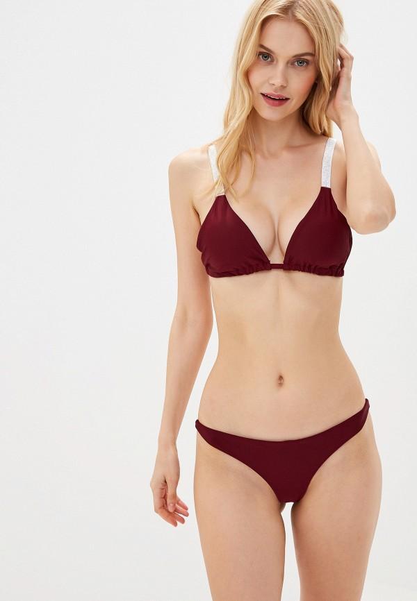 женский купальник marcella, бордовый