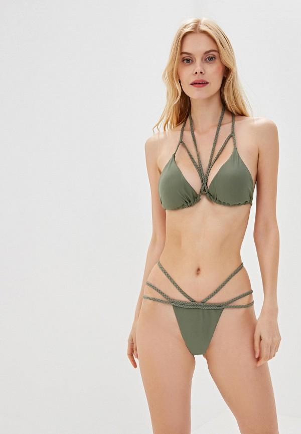 женский купальник marcella, хаки