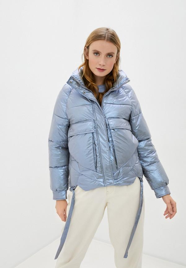 женская куртка marcella, серебряная