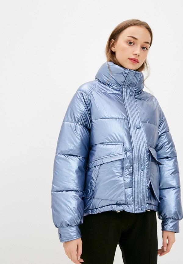 женская куртка marcella, голубая