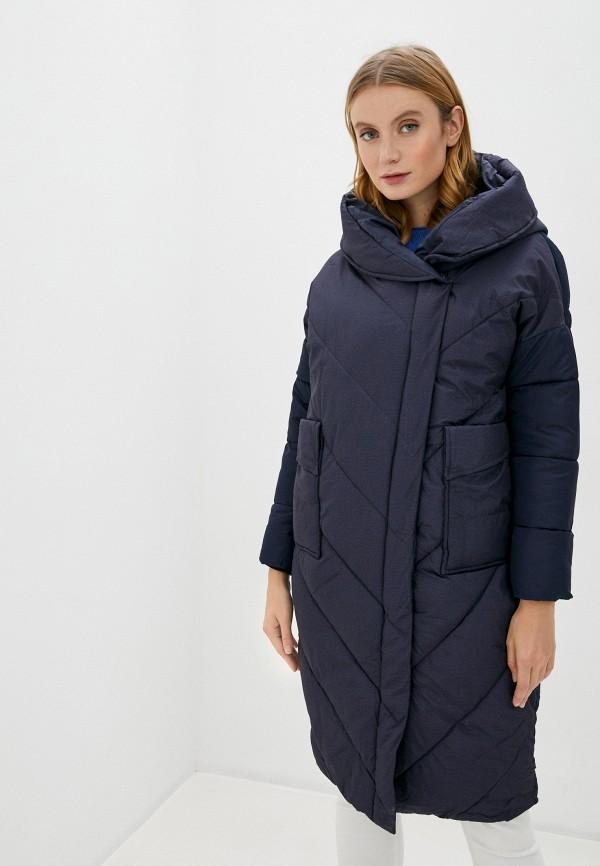 женская куртка marcella, синяя
