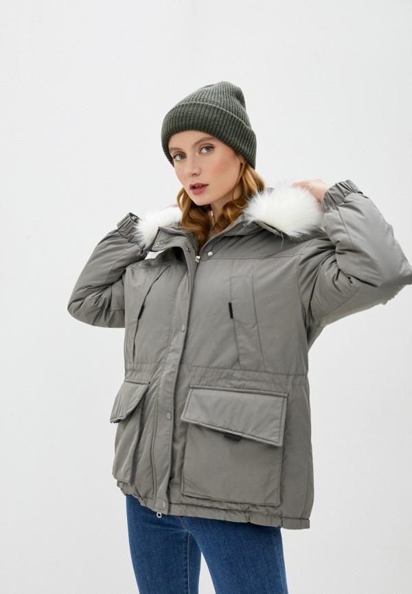 женская куртка marcella, серая