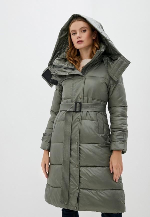 женская куртка marcella, хаки