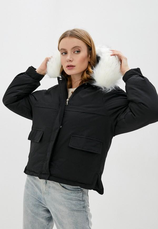 женская куртка marcella, черная
