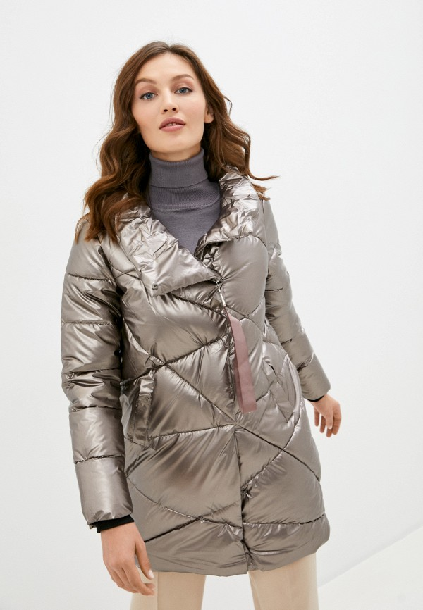 женская куртка mamma mia, серая