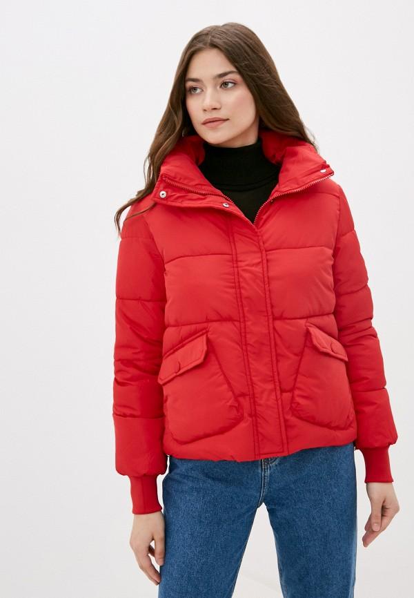 женская куртка mamma mia, красная