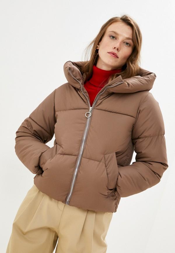женская куртка mamma mia, коричневая