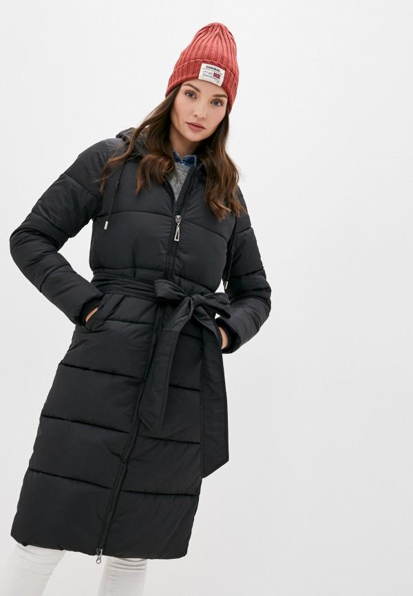 женская куртка mamma mia, черная