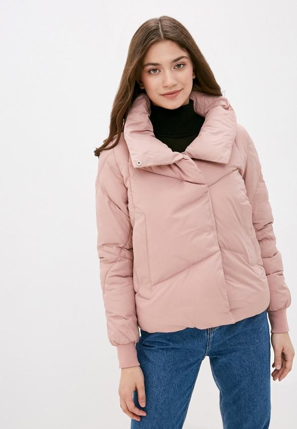 женская куртка mamma mia, розовая
