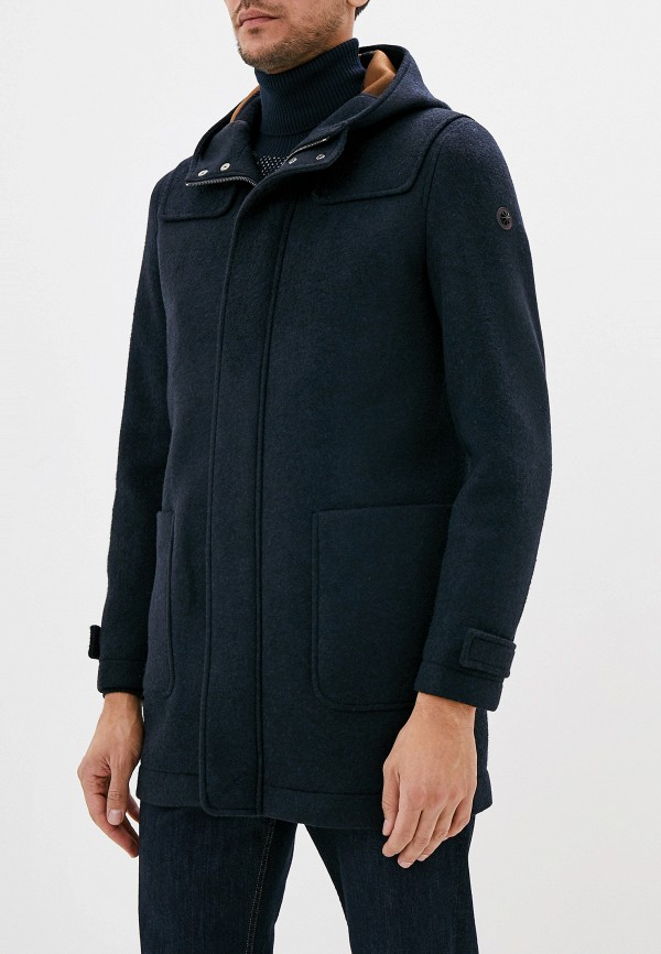 мужское пальто manuel ritz, синее
