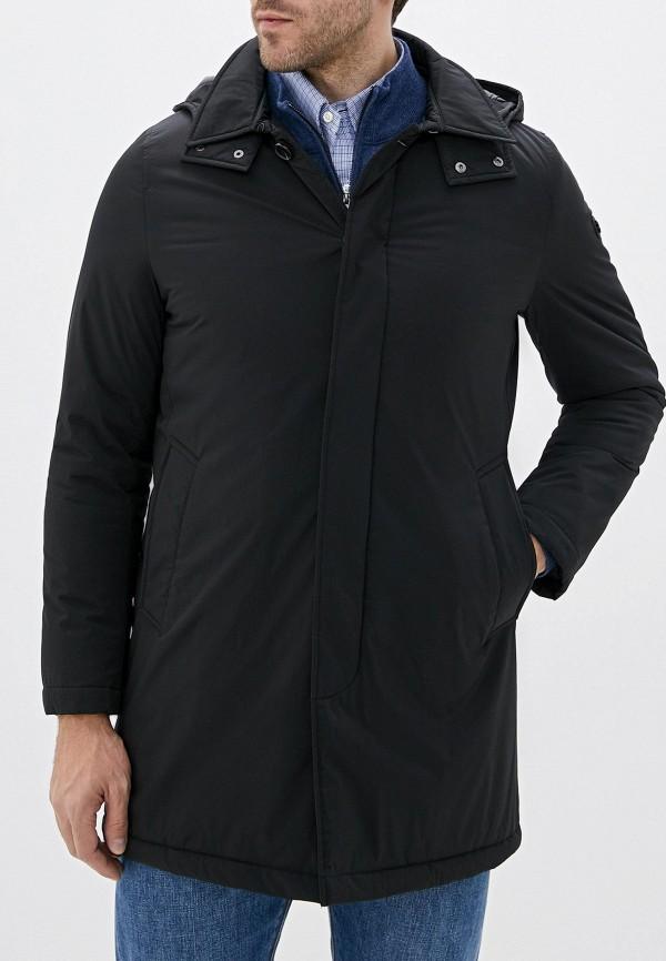 мужская утепленные куртка manuel ritz, черная