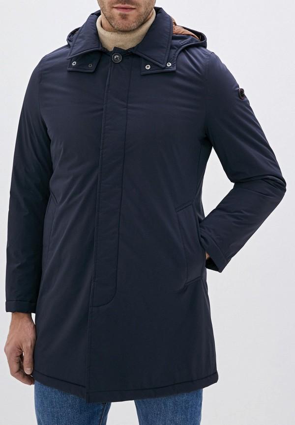 мужская утепленные куртка manuel ritz, синяя