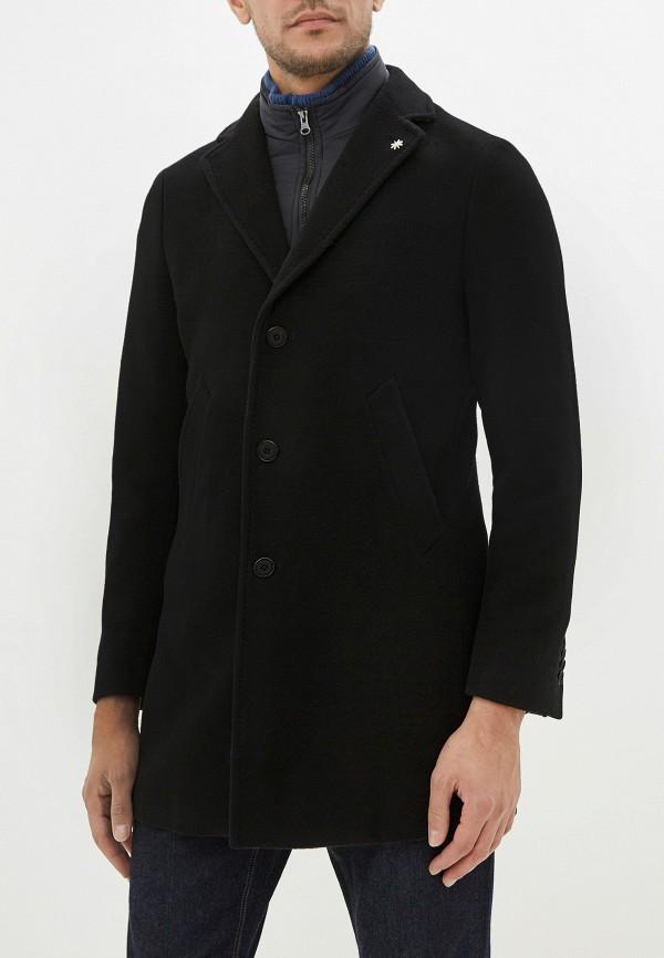 мужское пальто manuel ritz, черное