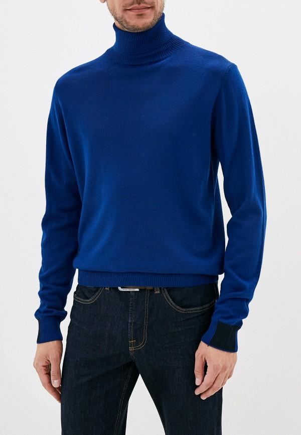 мужская водолазка manuel ritz, синяя