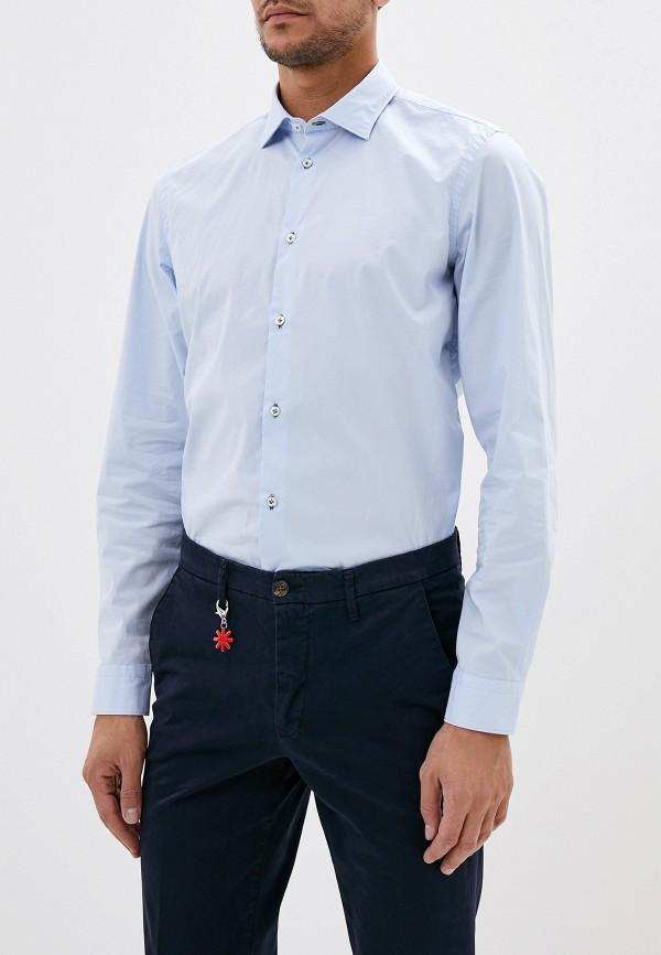 мужская рубашка manuel ritz, голубая
