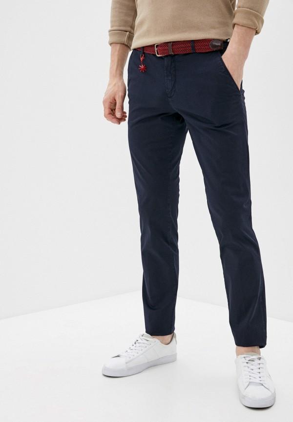 мужские брюки чинос manuel ritz, синие