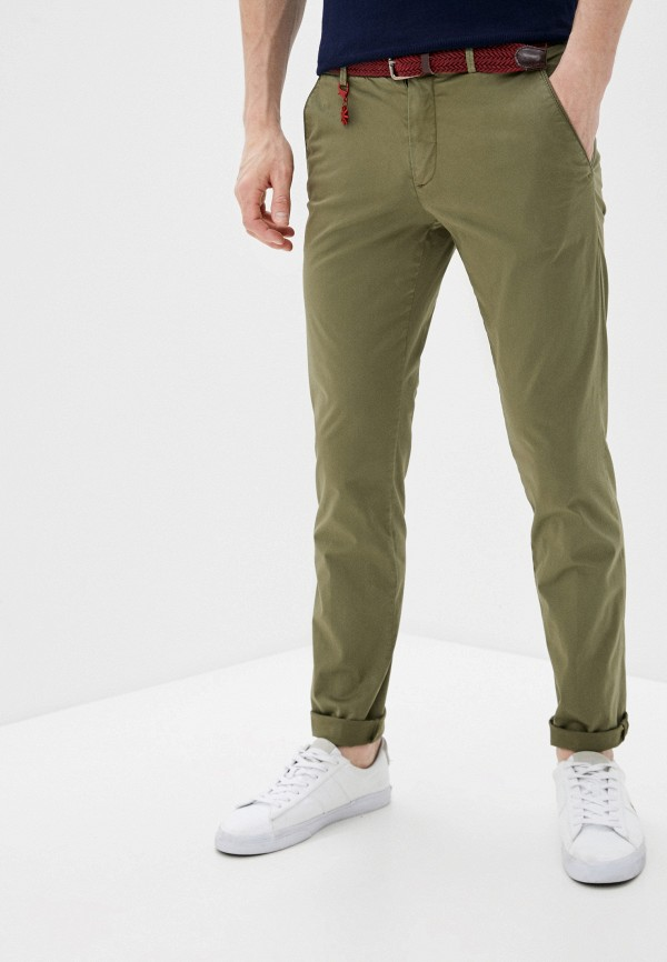 мужские брюки чинос manuel ritz, хаки
