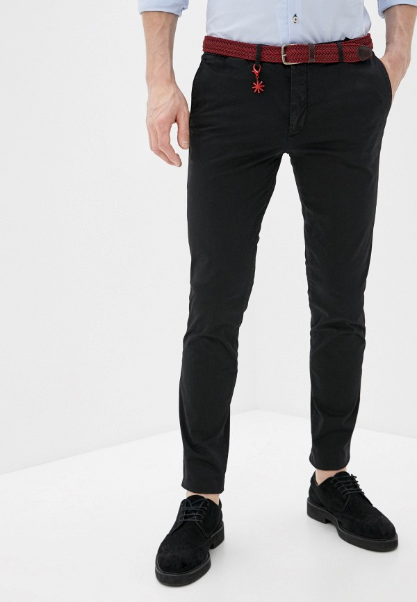 мужские повседневные брюки manuel ritz, черные