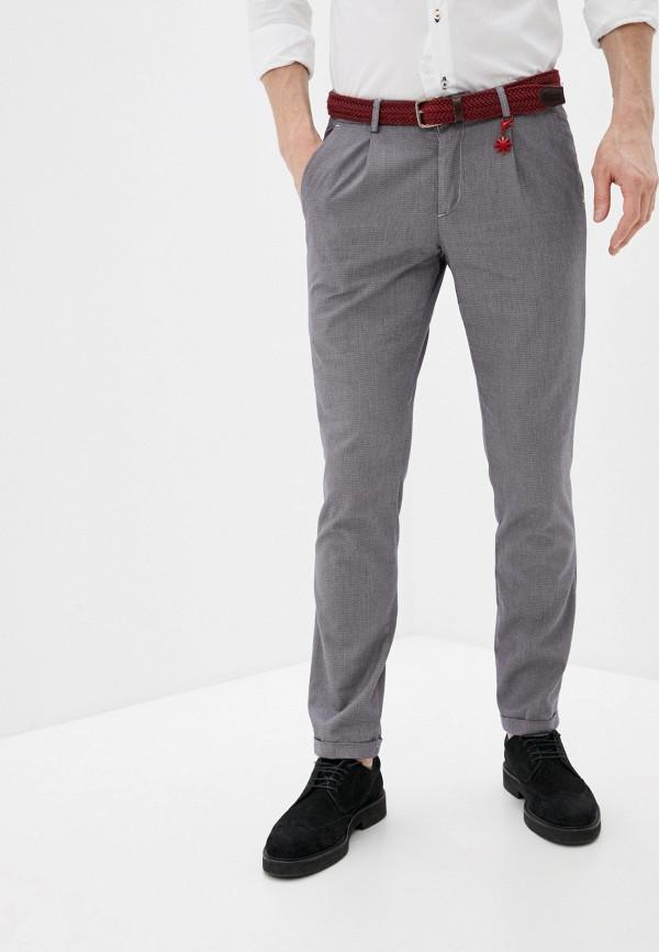 мужские повседневные брюки manuel ritz, серые